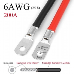 Switch Cable 6AWG(25-8)